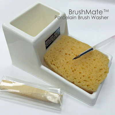 Brush Mate - Dental Porcelain Brush Washer For Your Dental Lab Ceramist