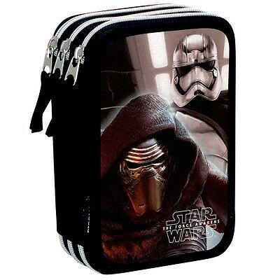 STAR WARS STARKILLER Plumier triple - estuche 45 piezas/Pencil case