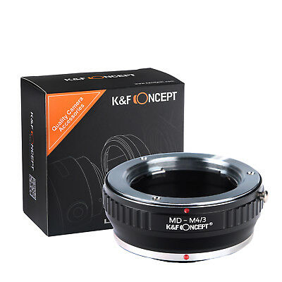 K&F Concept Adapter Minolta MD MC Micro Four Thirds M4/3 MFT Rokkor Pen GH4 GH7