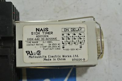 NAIS S1DX TIMER ADX11324 w/ base - USED