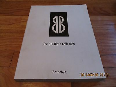 Rare 2003 Sotheby's The Bill Blass Collection Auction Catalog New York