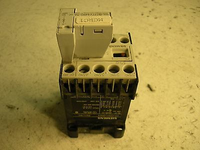 Siemens Contactor Relay 3TH2031-0BB4 with Siemens Surge Suppressor