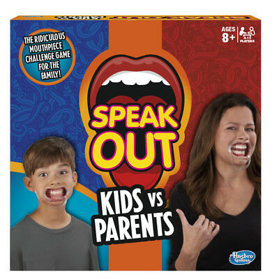 Speak Out Parents Vs Kids Game - NEW