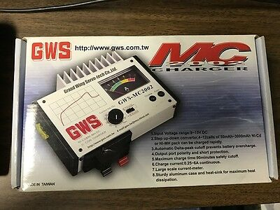 GWS MC2002 Charger - New In Box!!