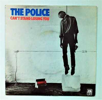 The Police - Can't Stand Losing You - 1979 A&M Blue Vinyl Re-issue (VG/EX)