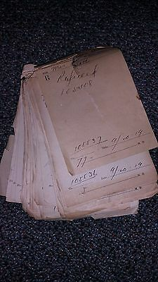 Antique Large group of early 1900's prescriptions