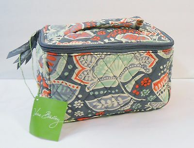 Vera Bradley NOMADIC FLORAL Travel Cosmetic Bag New with Tag