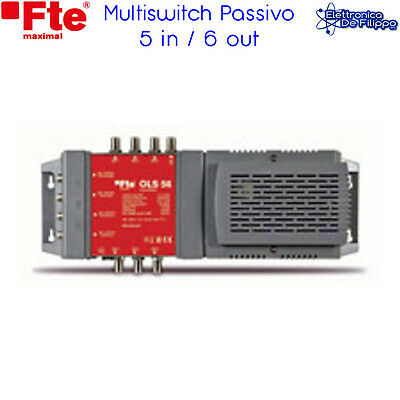 Ols56 Multiswitch Radiale Passivo 5 In / 6 Out