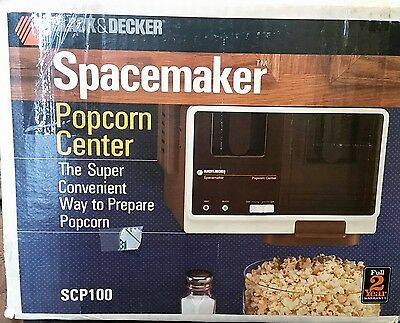 Black & Decker Spacemaker Popcorn Center
