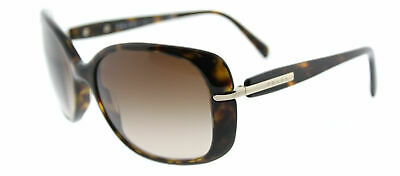 d9a3f78703b20 New Authentic Prada PR 08OS 2AU6S1 Havana Plastic Sunglasses Brown Gradient  Lens