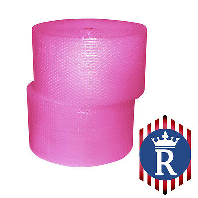 "3/16"" x 350' Ft x 12"" Wide HOT PINK Bubble Roll - High Quality"