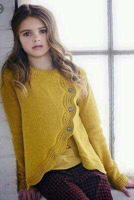 Persnickety Penny Lane Gold Amelia Sweater XL(16)