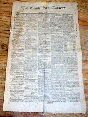1801 newspaper Thomas Jefferson letter to NEWBERRY  TOWNSHIP York PENNSYLVANIA