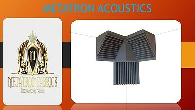 3 Pack Acoustic Foam Bass Trap 12 x 12 x 12 Studio Soundproofing Corner 1 Block