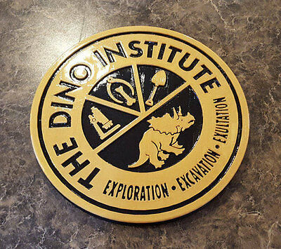 DINOSAUR Dinoland U.S.A. Dino Institute Inspired Logo Animal Kingdom Sign