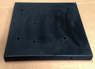 Steel Mounting Base plate. Electric motors, Gas Engines, Work Table