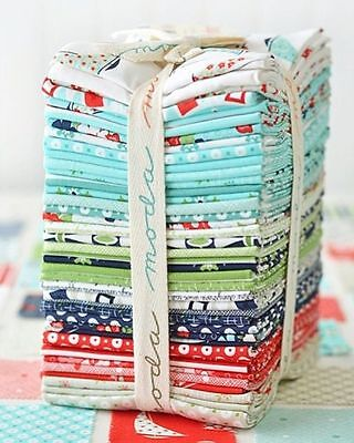 Daysail 40 Fat Quarter Bundle Bonnie and Camille for Moda Quilting Fabric