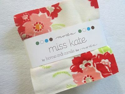 """Miss Kate - Bonnie and Camille for Moda Flannel Charm Pack 42 5"""" sq Quilt Fabric"""