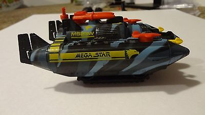 Vintage Stomper Mega Star MS23W! Missing Canopy, Schaper Battery Operated Toy
