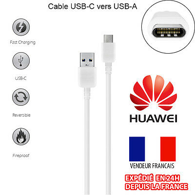 Cable Sync Chargeur Usb-C (Type C) 3.1 Vers Usb Pour Huawei