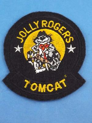 United States Naval F-14 Jolly Rogers Tomcat Fighter Squadron Patch Collector