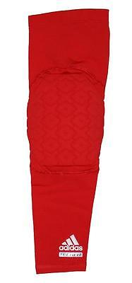 Adidas Techfit Men's Basketball Padded Compression Arm Elbow Sleeve - Red