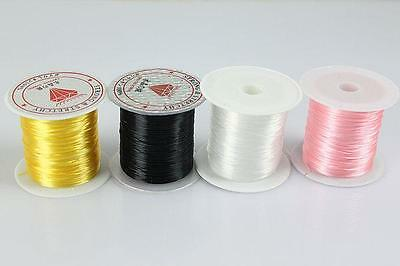 Strong Crystal Elastic Stretchy String Cord Thread Beading Craft Jewelry YF