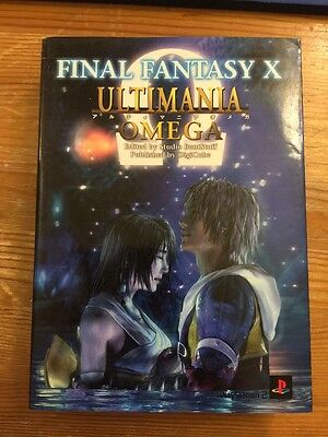 JAPAN FINAL FANTASY X Ultimania Omega Square enix Book OOP