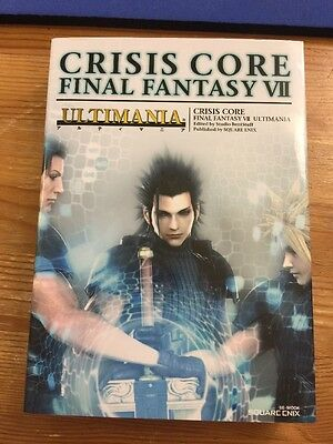 Crisis Core Final Fantasy VII ULTIMANIA Square Japan Book