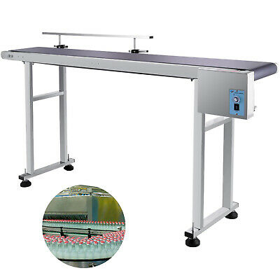 Power Slider Bed Belt Electric Coding Conveyor Stainless Steel Adjustable Auto