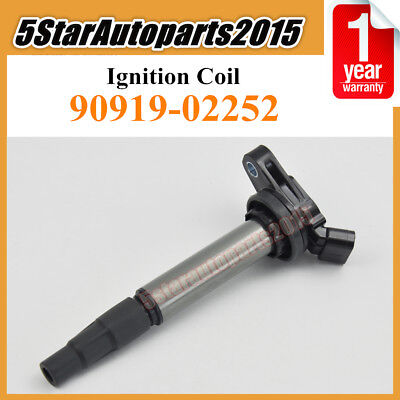 OEM# 90919-02252 New Ignition Coil for Toyota Corolla Matrix Scion xD Lexus 1.8L