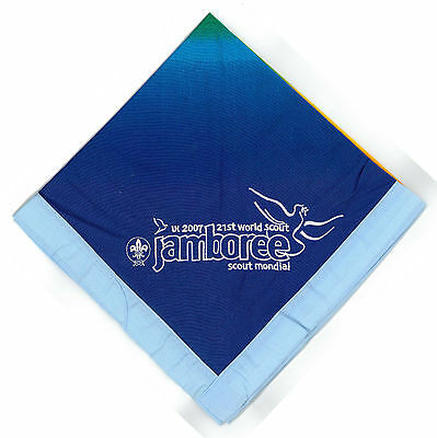 2007 World Scout Jamboree OFFICIAL PERFORMANCE STAFF (LIGHT BLUE) N/C SCARF