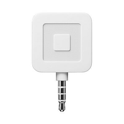 Square Mobile Credit Card Reader White with $10 Account Credit