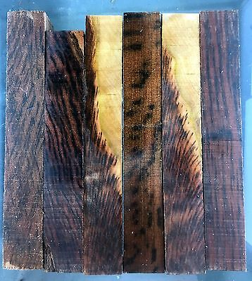 pen blanks, tiger myrtle, tasmanian woods