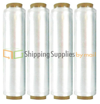 "6 Mic. Advanced Pre-Stretch Hand Wrap w/ Folded Edges 224 Rolls 15"" x 1968 Ft"