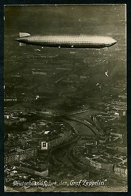 Germany (234) Airship Luftshiff Graph Zeppelin Berlin Collection Pc Vf Unused