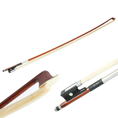 New Professional 4/4 Size Black Handle Arbor Horsehair Violin Bow