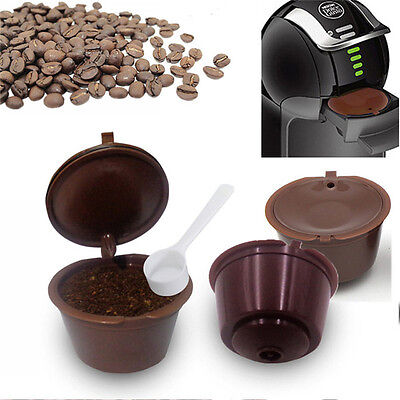 2pcs/pack Refillable Dolce Gusto Coffee Capsule Nescafe Capsules Dolce Refill