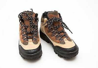 Womens/boys Scarpa Marco Walking Hiking Boots Padded Beige Size Eur 39 Uk 6 Exc