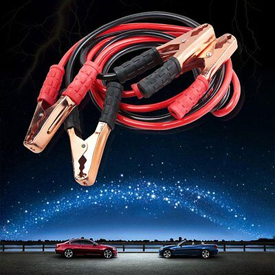 Heavy Duty 6.5FT 4 Gauge Booster Cable Jumping Cables Emergency Power Jumper