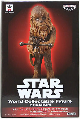 "BANPRESTO STAR WARS World Collectable Figure PREMIUM "" Chewbacca ""F/S WCF Type B"