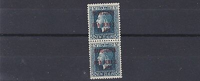 Cook Is 1919  S G 48B  2 1/2D Vertical Pair  Mh & Mnh