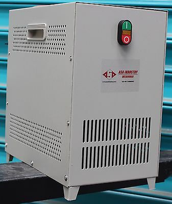 5 KVA - 4 kW - Rotary phase converter 240V Single Phase to Three Phase 415V