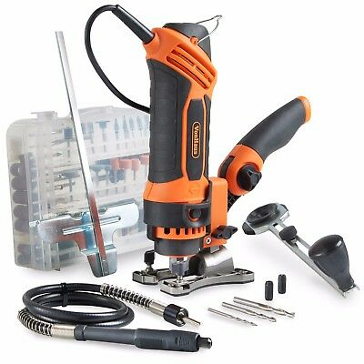 VonHaus 550W 230V Deluxe Spin Saw Multi Pupose Tool 287pc Accessory Kit