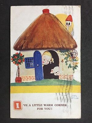 Vintage Postcard: Artist Signed: Mabel Lucie Attwell No. 1803 Posted: 1932 #A194