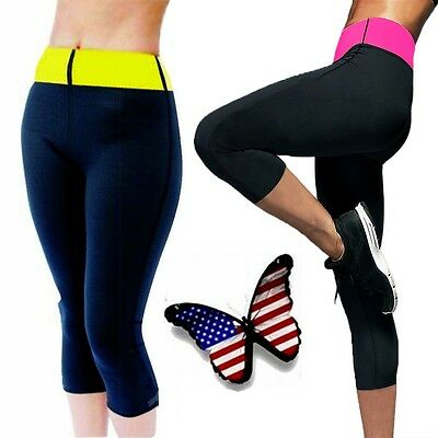 Hot Sweat Sauna Body Shaper Women Slimming Pants Thermo Neoprene Gym Trainer SFC