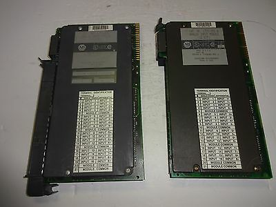 Lot Of 2 Allen Bradley 1771-Ife Analog Input Module