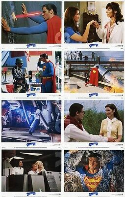 SUPERMAN III Lobby Cards (1983) Complete Set of 8