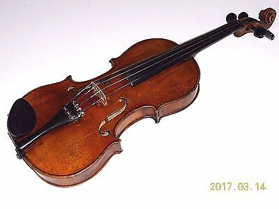 Vintage Full Size Violin / Fiddle for Repair  #030817BPC6