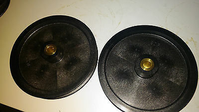 """MXL timing belt pulley 120 tooth 1/4"""" wide belt .    1/4"""" bore"""